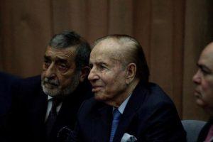El ex presidente argentino Carlos Menem, absuelto de encubrir un atentado a una mutua judía en 1994